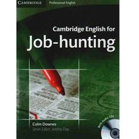 Książki do nauki języka, Cambridge English For Job-Hunting + Cd (opr. miękka)
