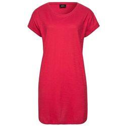 """Długi shirt """"boxy"""", krótki rękaw bonprix czerwony"""