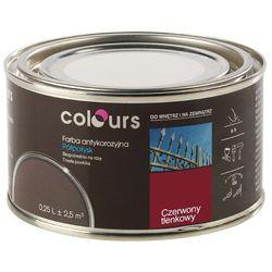 Farba antykorozyjna Colours czerwona tlenkowa 0,25 l