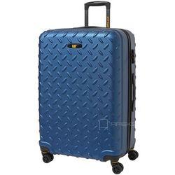 Caterpillar Industrial Plate walizka duża 75 cm CAT / niebieska - Sea Blue