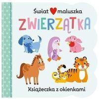 Książki dla dzieci, Świat maluszka. Zwierzątka (opr. kartonowa)