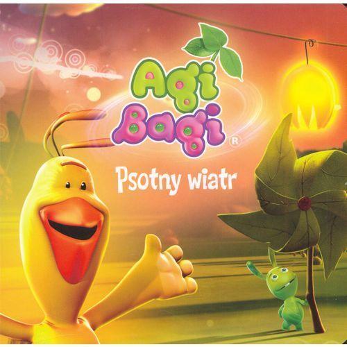 Książki dla dzieci, Agi Bagi. Psotny wiatr Krynicka Iwona (opr. twarda)