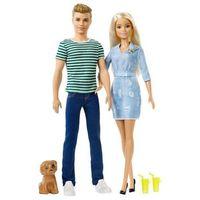 Pozostałe zabawki, MATTEL - Zestaw Lalek Barbie i Ken z pieskiem