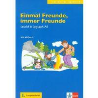 Książki do nauki języka, EINMAL FREUNDE IMMER FREUNDE A1 (opr. miękka)