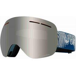 gogle snowboardowe DRAGON - Dr X1S Bonus Wovenpalms Llsilion+Llflashblu (440) rozmiar: OS