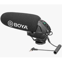 Akcesoria studyjne, BOYA BY-BM3030 Superkardioidalny mikrofon pojemnościowy typu shotgun