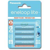 Akumulatorki, Panasonic ENELOOP LITE AAA 550mAh 3000 CYKLI 4SZT