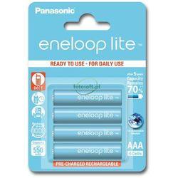 Panasonic ENELOOP LITE AAA 550mAh 3000 CYKLI 4SZT