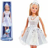 Pozostałe lalki i akcesoria, Steffi w sukience z kryształkami Swarovskiego