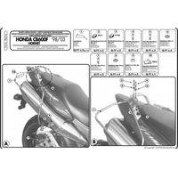 Stelaże motocyklowe, Kappa TK214 Stelaż sakw e Honda Cb 600F Hornet (98-06)