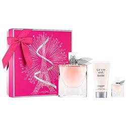 Lancome La Vie Est Belle, Zestaw podarunkowy, woda perfumowana 75ml + woda perfumowana 4ml + balsam do ciała 50ml