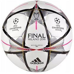 adidas Performance FINALE MILANO MINI Piłka do piłki nożnej white/black/silver metallic