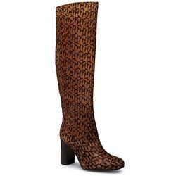 Kozaki TOMMY HILFIGER - Th Hair Calf High Heel Long Boot FW0FW05169 Oakmont AEZ