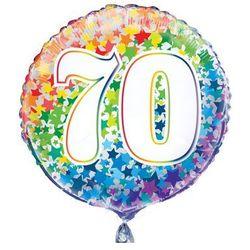Balon foliowy kolorowy - 70tka - 47 cm - 1 szt.