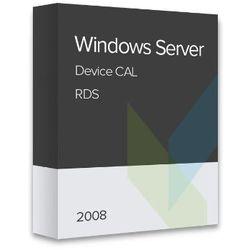 Windows Server 2008 RDS Device CAL elektroniczny certyfikat
