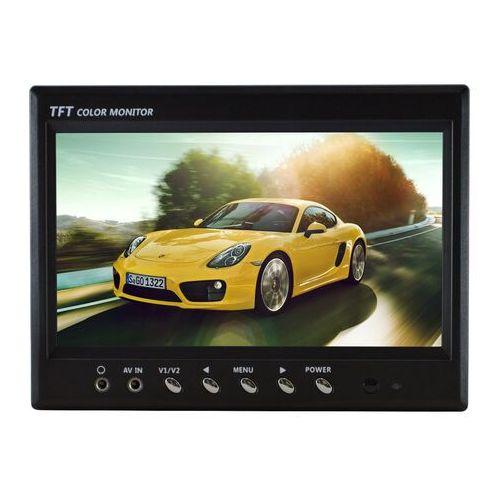 "Monitory samochodowe, NVOX HT 970 Monitor samochodowy cofania lub zagłówkowy LCD 7"" cali monitoring AV"