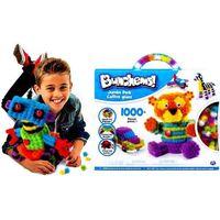 Kreatywne dla dzieci, Bunchems Jumbo Pack XXL Rzepy 1000+ el Spin Master