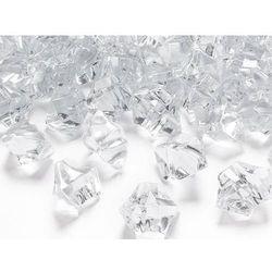 Kryształowy lód bezbarwny - 2,5 x 2,1 cm - 50 szt.