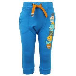 Mainio ZGREEN FACE TO FACE CHILDREN'S BOMBER SWEATPANTS Spodnie treningowe blue