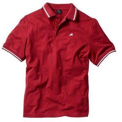 Shirt polo Regular Fit bonprix czerwony