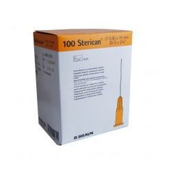Igła STERICAN 0,9 x 70mm 20G orange 100szt