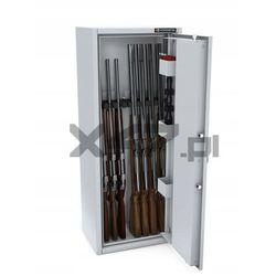 Szafa na broń długą MLB 125/4+4 CL S1 Konsmetal - zamek szyfrowy