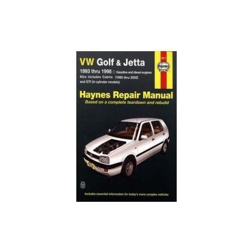 Biblioteka motoryzacji, Volkswagen Golf & Jetta (93 - 98)
