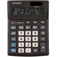 Kalkulatory, Kalkulator biurowy CITIZEN CMB801-BK Business Line, 8-cyfrowy, 137x102mm, czarny