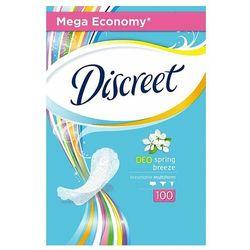 Discreet Spring Breeze Multiform Oddychające wkładki higieniczne 100 sztuk