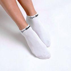 GymBeam Skarpety Ankle Socks 3Pack White