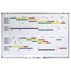 Tablica do planowania rocznego,szer. x wys. 900 x 600 mm, z podziałką na 365 dni