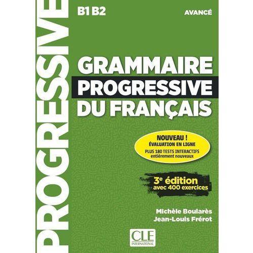 Książki do nauki języka, Grammaire Progressive du Francais Avance 3e Edition. Podręcznik + CD (opr. miękka)