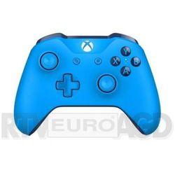 Microsoft Xbox One S Kontroler bezprzewodowy (niebieski)