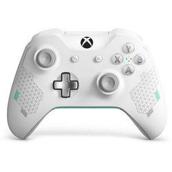 Kontroler bezprzewodowy Microsoft do konsoli Xbox One - wersja specjalna Sport White (biały)