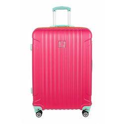 Duża walizka PASO różowa 4Y38DL Oferta ważna tylko do 2023-03-04