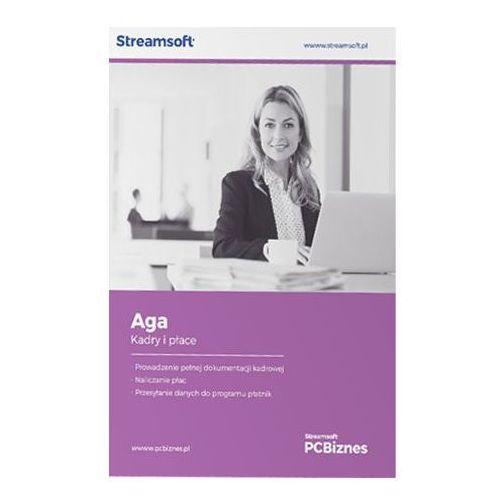 Programy kadrowe i finansowe, Streamsoft PCBIZNES AGA Kadry i płace do 50 pracowników