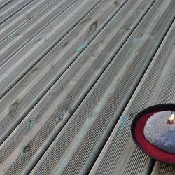 Deska tarasowa drewniana Blooma 2400 x 144 x 27 mm sosna