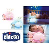 Pozostałe zabawki dla najmłodszych, CHICCO Projektor gwiazde k różowy