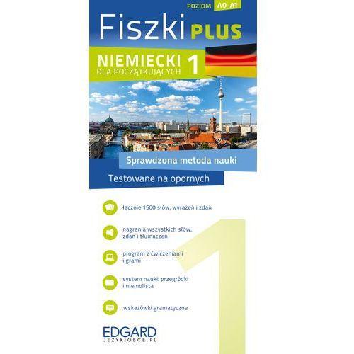 Książki do nauki języka, Fiszki Plus. Niemiecki dla początkujących 1 (opr. kartonowa)