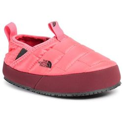 Kapcie THE NORTH FACE - Youth Thermoball Traction Mule II NF0A39UXTJF1 Paradise Pink/Root Brown