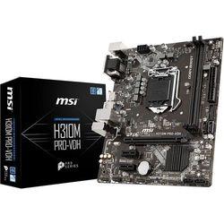 Płyta główna MSI H310M PRO-VDH ( LGA 1151; 2x DDR4 DIMM; Mini ATX; Nie )