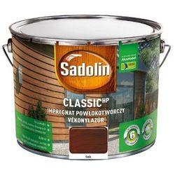 SADOLIN CLASSIC HP- impregnat do drewna, tek, 9 l