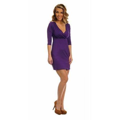bb26b25d s012 / 8978 sukienka śliwka, Lemoniade