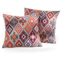 Narzuta na sofę w etniczny deseń bonprix czerwony