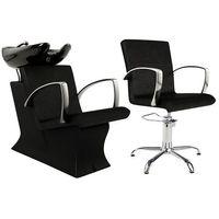 Meble fryzjerskie, Zestaw Partner Ayala - Myjnia + Fotel