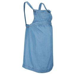 """Sukienka ciążowa ogrodniczka przyjazna dla środowiska bonprix niebieski """"bleached"""""""