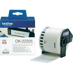 Taśma Brother Continuous Paper Tape 62mm x 30.48m DK22205 - odbiór w 2000 punktach - Salony, Paczkomaty, Stacje Orlen