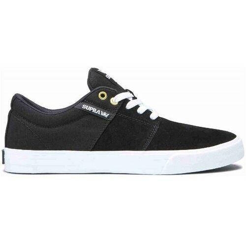 Męskie obuwie sportowe, buty SUPRA - Stacks Vulc Ii Black/Black-White (044) rozmiar: 44.5