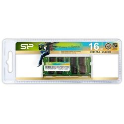 Pamięć DDR4 SODIMM Silicon Power 16GB 2400MHz CL17 1.2V 1Gx8 260pin