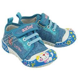 AXIM 1TE1188 niebieski, tenisówki dziecięce, rozmiary: 19-24 - Niebieski